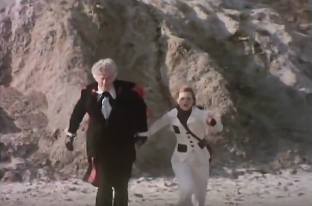 The Master Summons the Sea Devil - The Sea Devils - Doctor Who