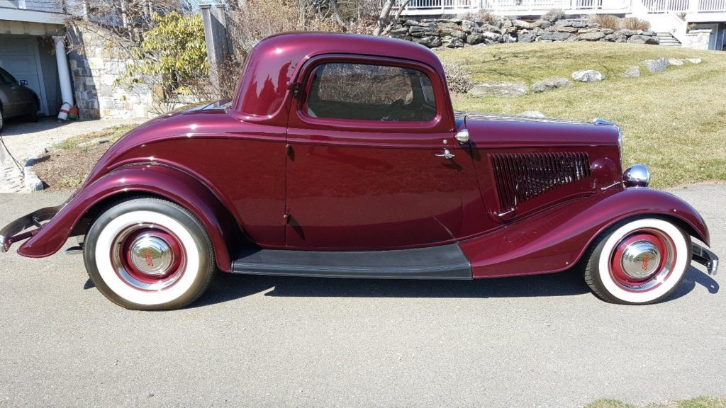 1934 Ford 3 Window Coupe Hot Rod