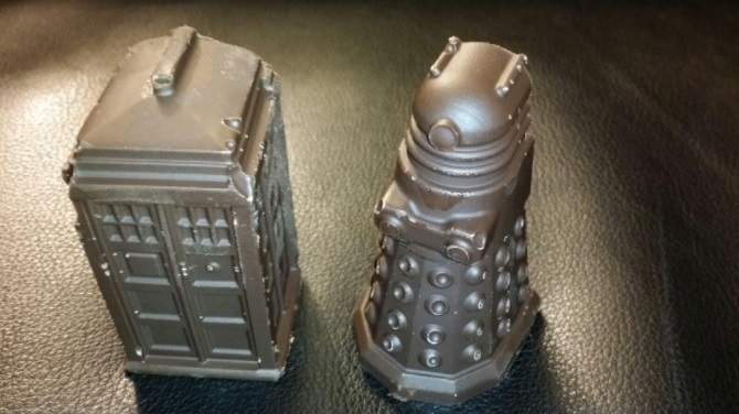 Tardis and Daleks
