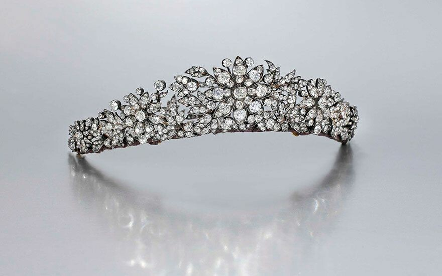 Gorgeous Diamond Tiara