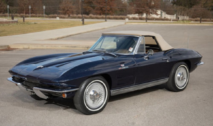 1963 Corvette Fuelie Matching Numbers 360 Horsepower & 4-Speed
