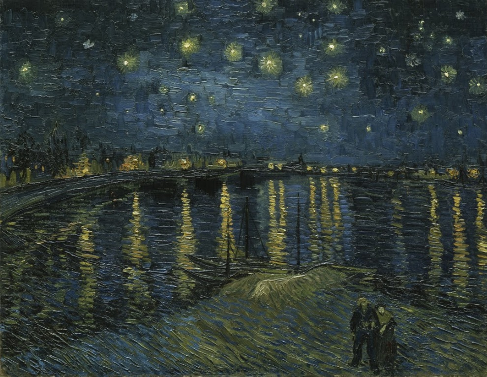 Starry Night by Vincent Van Gogh 1888