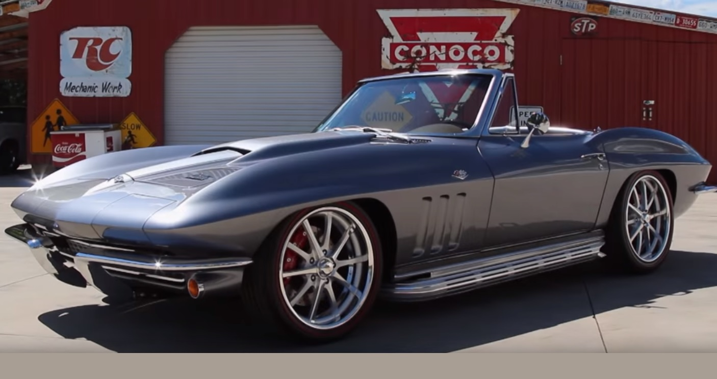1966 Chevrolet Corvette Stingray Convertible Frame Off Resto Mod LS1 Five Speed