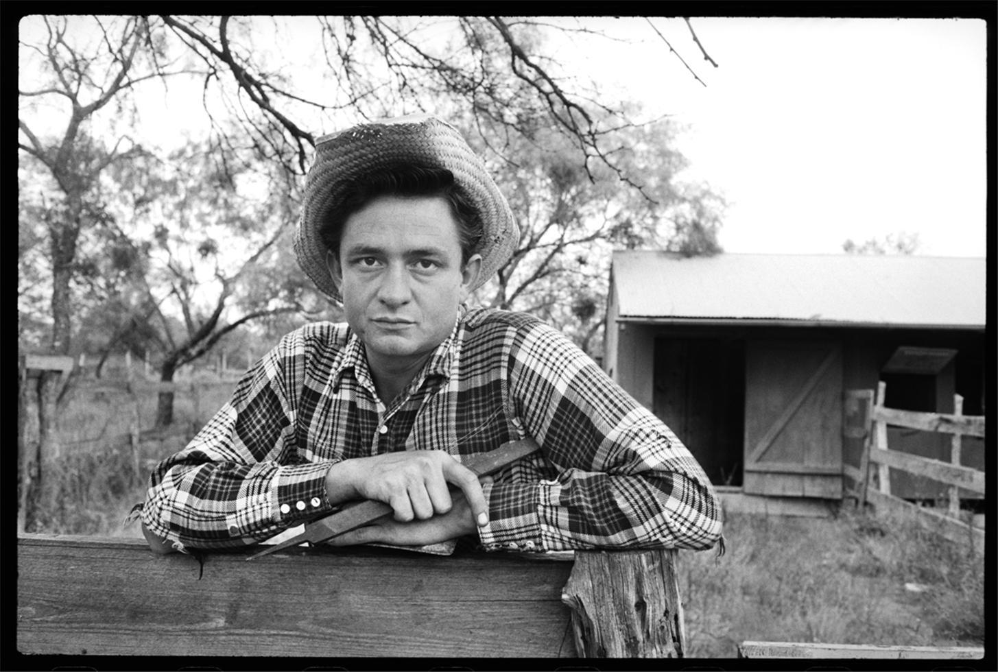 Johnny Cash in San Antonio, TX. 1959