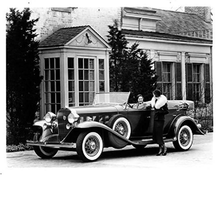 1932 Cadillac V8 Phaeton Factory Photo