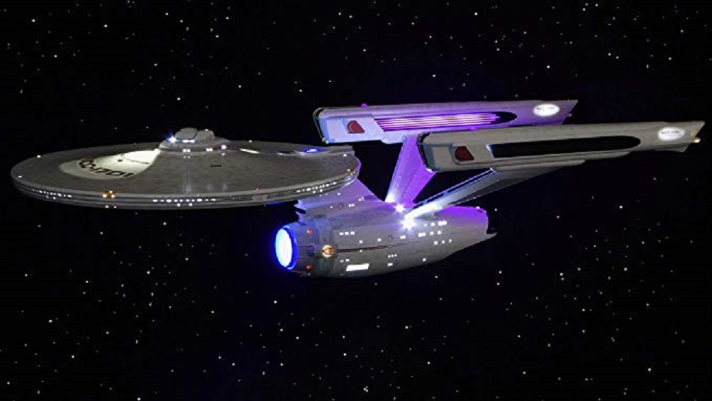 Movie Quality Complete LED Lighting & Sound Kit for Polar Lights Star Trek USS Enterprise NCC-1701 Refit/A 1:350 Model Kit by TenaControls