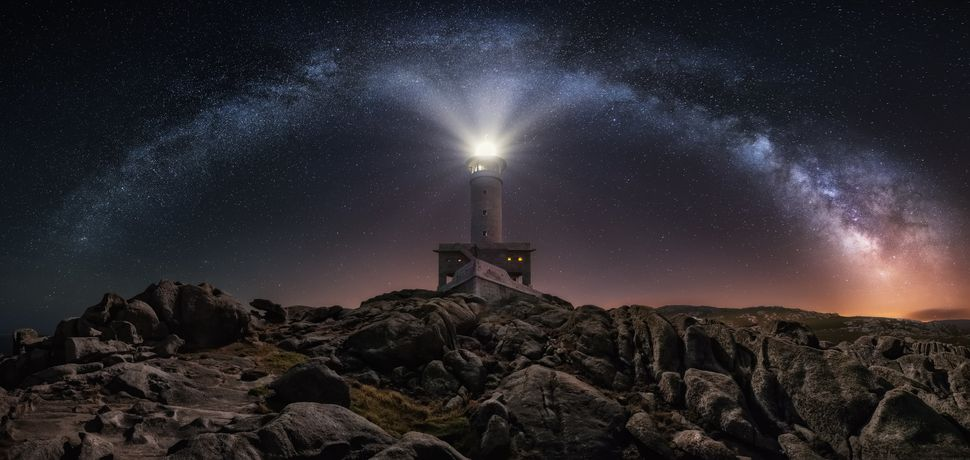 """Lighting The Way,"" Punta Nariga, Spain"